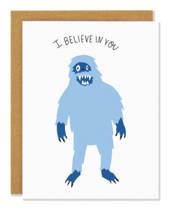 Motivation Yeti Card
