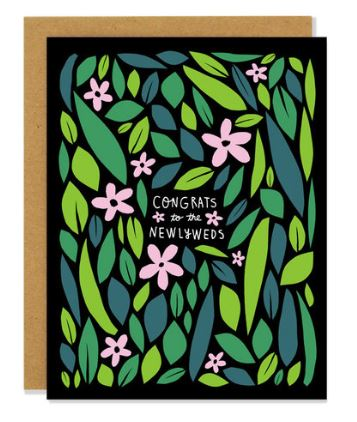 Congrats Newlyweds Card