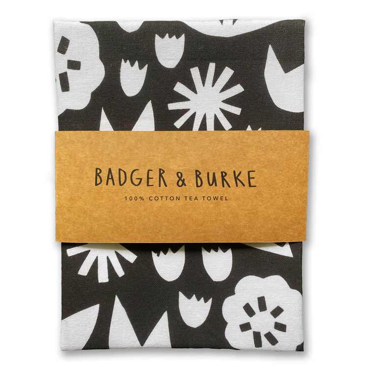 Badger + Burke - June Floral Tea Towel