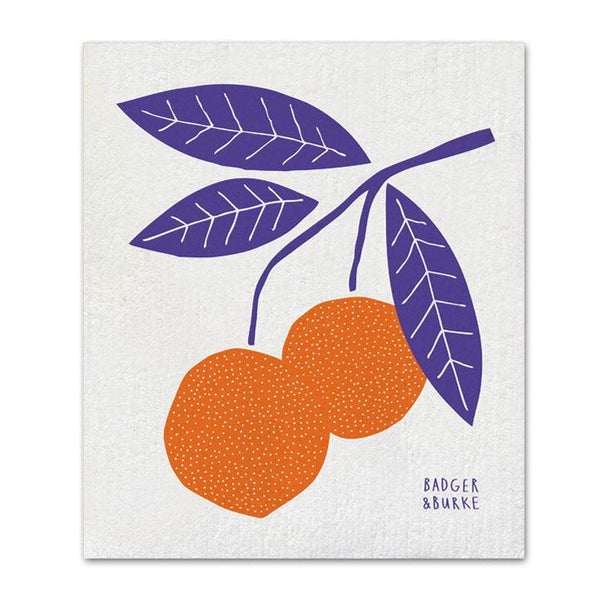Badger + Burke - Orange Sponge Cloth