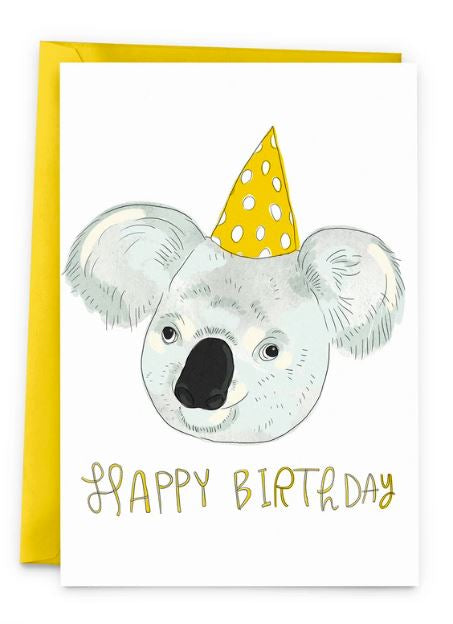 Birthday Koala Card