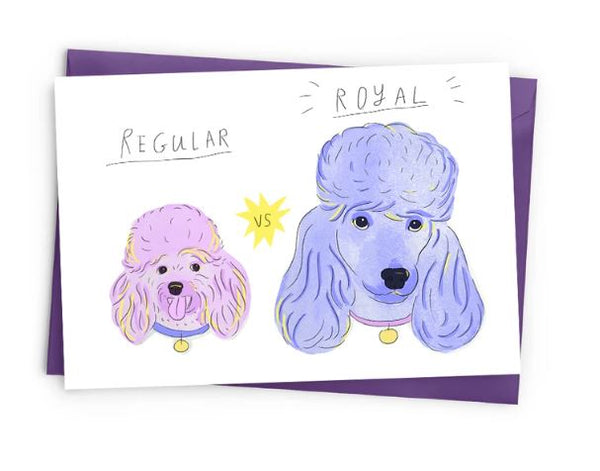 Royal Dogs Card