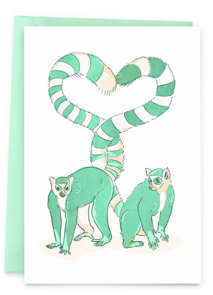 Baltic Club - Love Lemurs Card