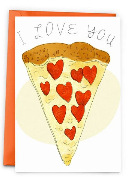 Pizza Love Card