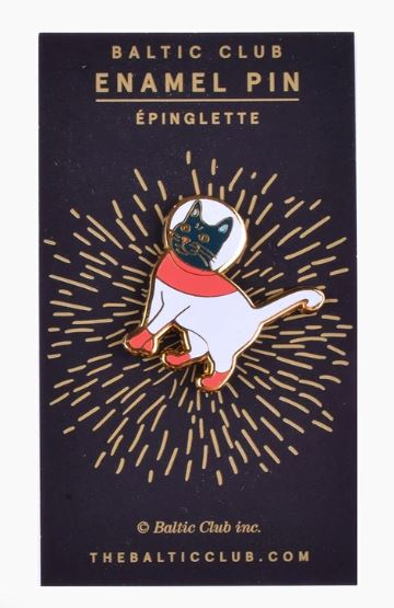 Baltic Club - AstroCat Enamel Pin