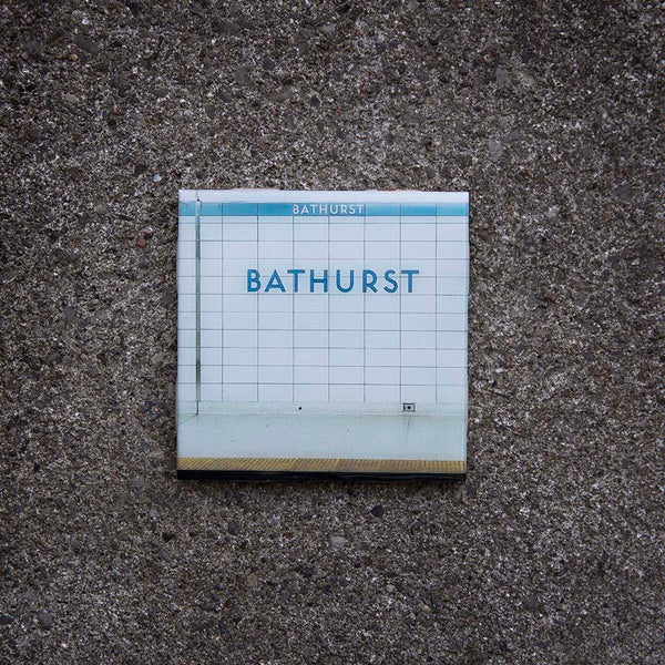 Resurfaced - Bathurst Station Tile Coaster