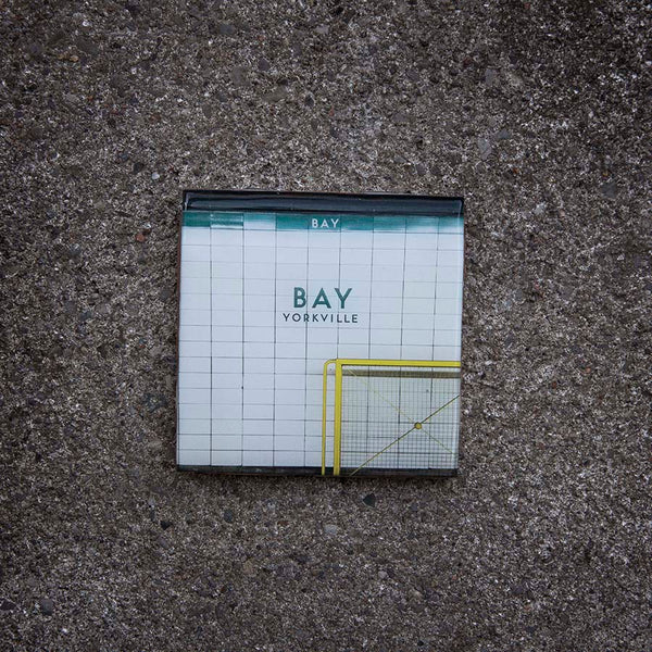 Resurfaced - Bay Station Tile Coaster