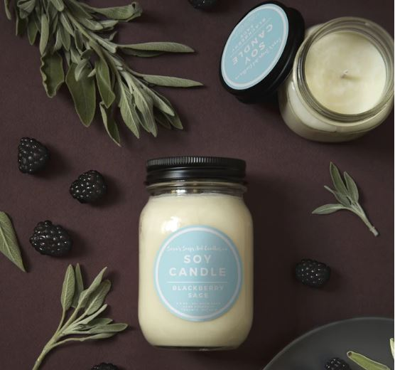 Sara's Candle Co. - Blackberry Sage