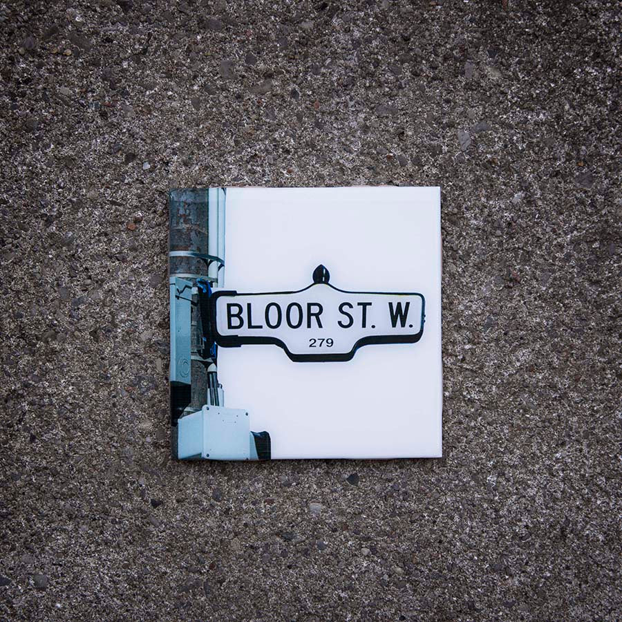 Resurfaced - Bloor St West Tile Coaster