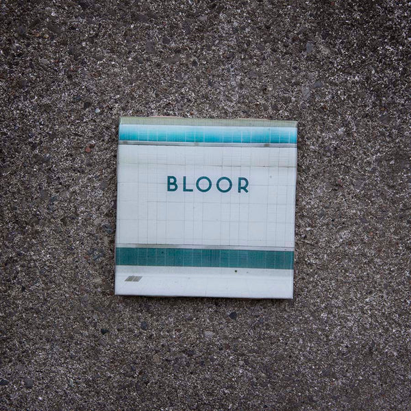 Resurfaced - Bloor Station Tile Coaster