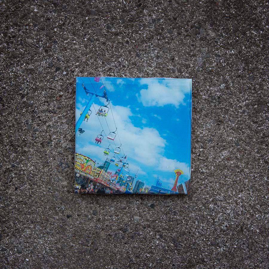 Resurfaced - CNE Tile Coaster