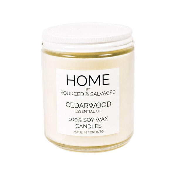 Sourced & Salvaged Soy Candle - Cedarwood