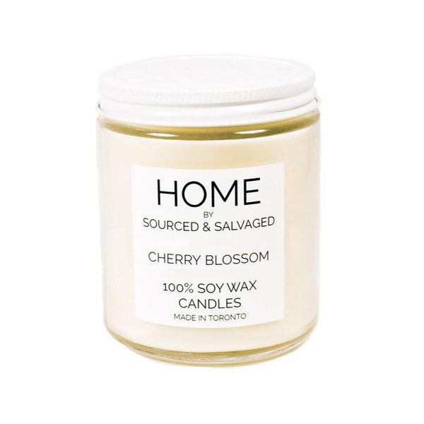 Sourced & Salvaged Soy Candle - Cherry Blossom