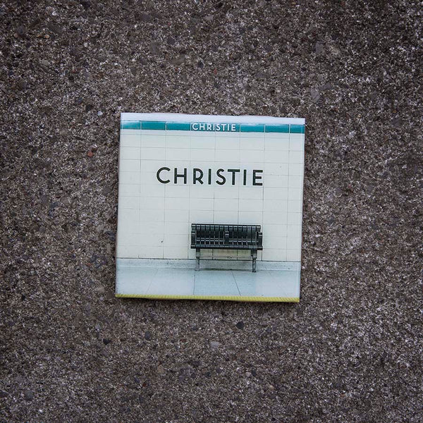 Resurfaced - Christie Station Tile Coaster