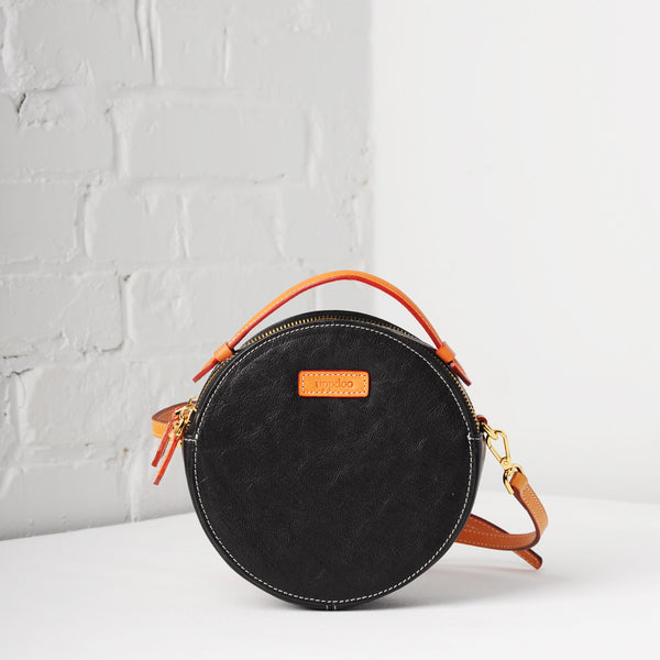 Full Circle Mini Crossbody (Black)