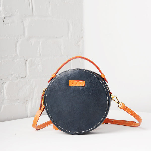 Full Circle Mini Crossbody (Navy)