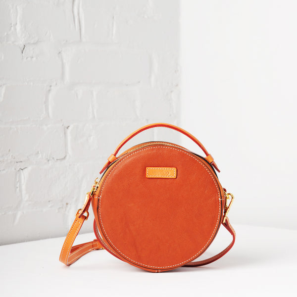 Full Circle Mini Crossbody (Royal Tan)