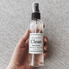 Beth + Olivia - CLEAN HAND SPRAY WITH BERGAMOT & YLANG YLANG 50ML