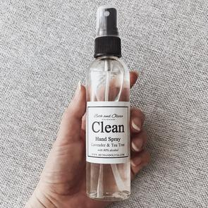 Beth + Olivia - CLEAN HAND SPRAY WITH LAVENDER & TEA TREE 50ML