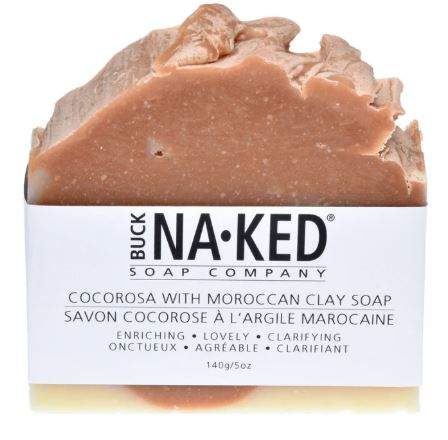 Buck Naked Cocorosa with Moroccan Clay Soap