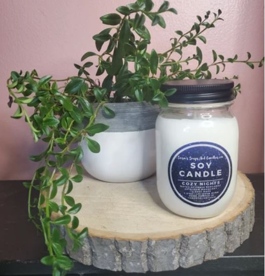 Sara's Candle Co. - Cozy Nights