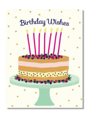 Birthday Berry Cake Card