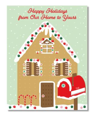 Design by Val - Gingerbread House Card