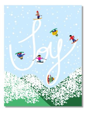 Design by Val - Holiday Joy Card