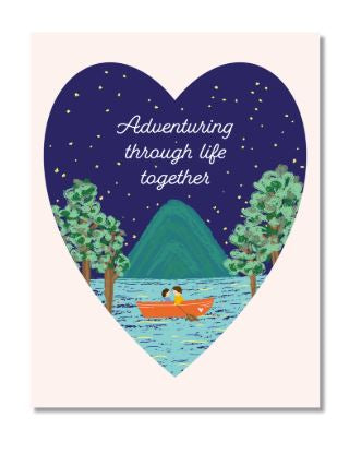 Adventuring Together Card