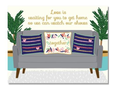 Couch Love Card
