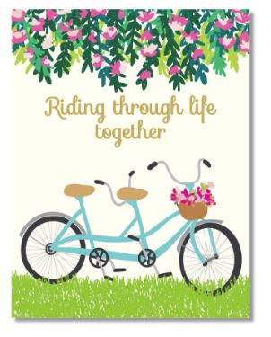 Riding Together Card