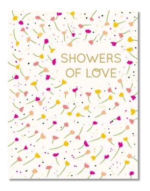 Showers of Love Card