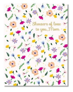 Showers of Love Mom Card