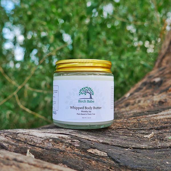 Birch Babe Naturals - Organic Whipped Body Butter Woody Jay