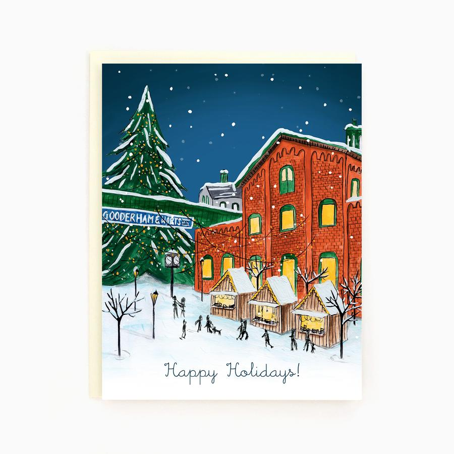 Made in Brockton Village - Toronto Distillery District Holiday Card