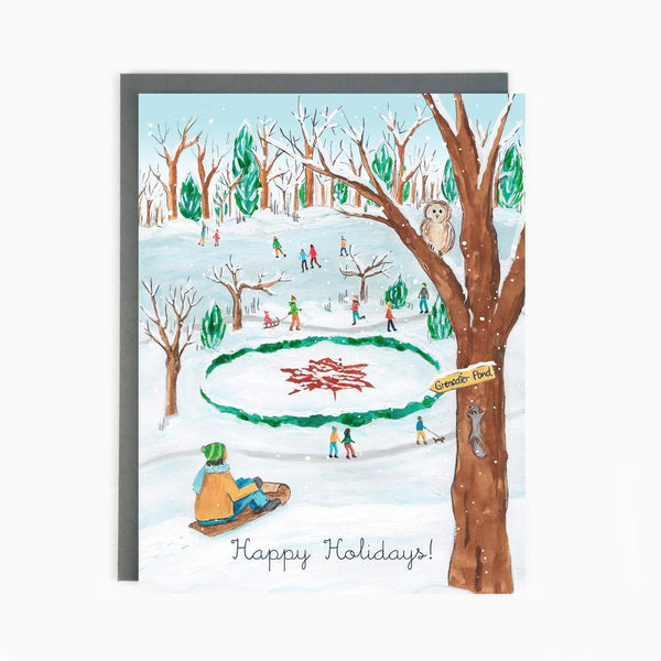 Made in Brockton Village - Toronto High Park Holiday Card