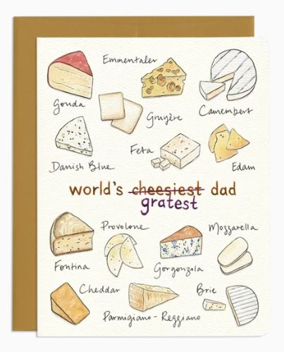 Cheese Dad Card
