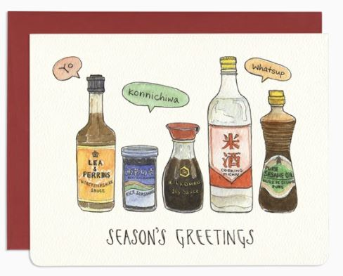 Gotamago - Season's Greetings Card