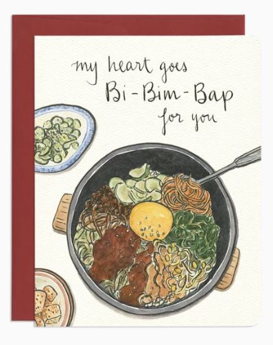 BiBimBap Love Card