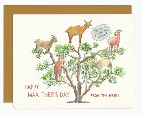 Happy Maa-ther's Day Card