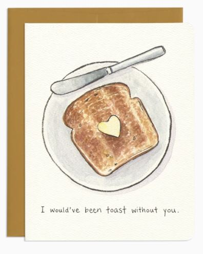 Thank You Toast Card