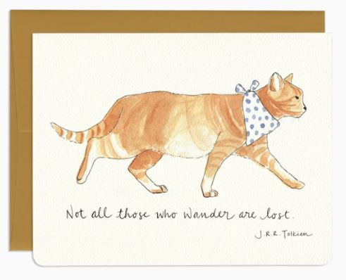 Wander Cat Card