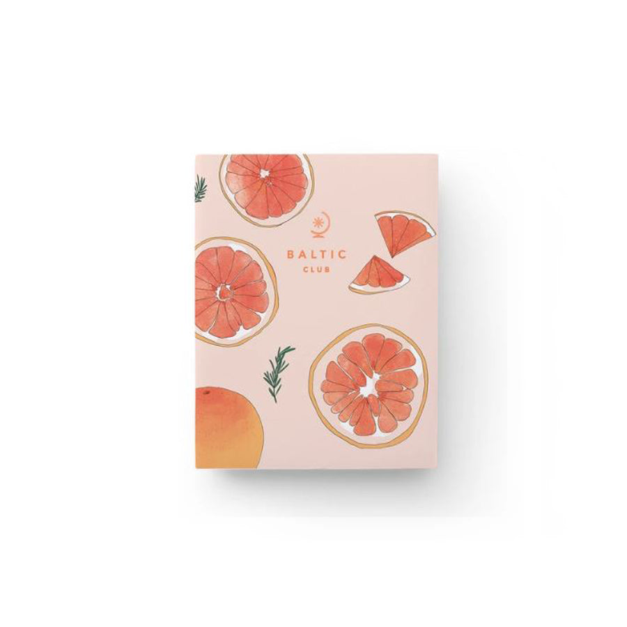 Baltic Club - Grapefruit Pocket Notebook