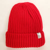 Uppdoo Studio - Wool Blended Beanie Toque Hat (Red)
