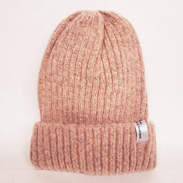 Uppdoo Studio - Wool Blended Beanie Toque Hat (Blush)