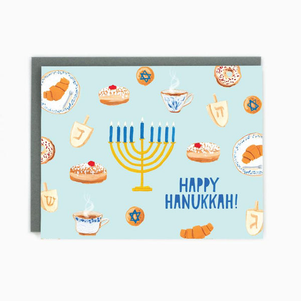 Made in Brockton Village - Hanukkah Treats Card