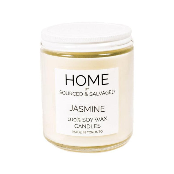 Sourced & Salvaged Soy Candle - Jasmine