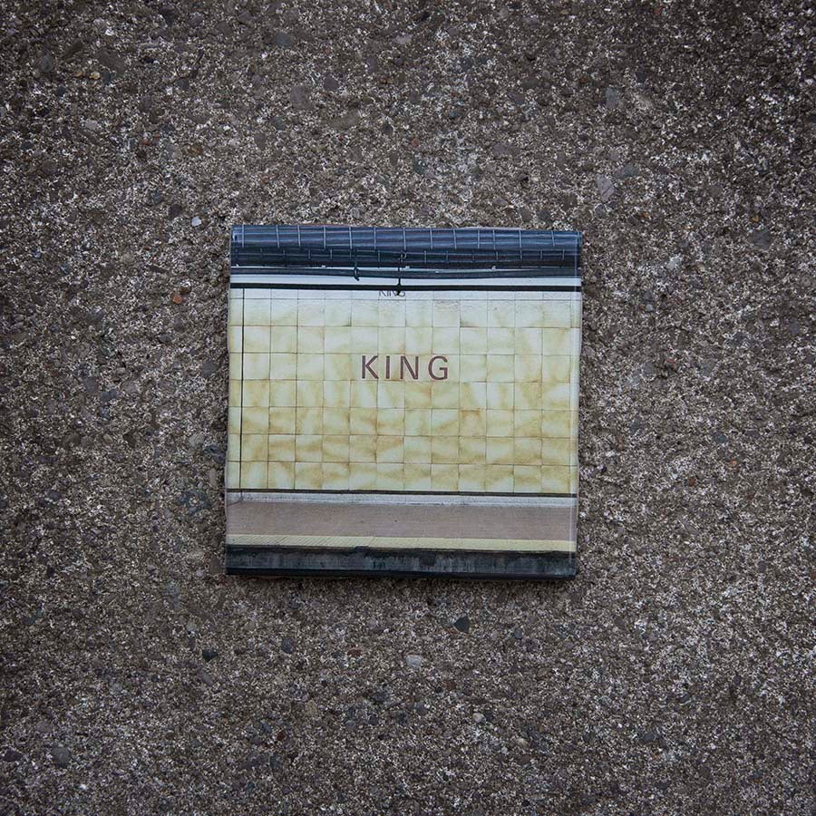Resurfaced - King Station Tile Coaster