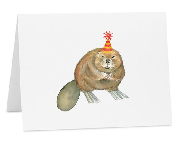 Jo Lee - Birthday Beaver Card
