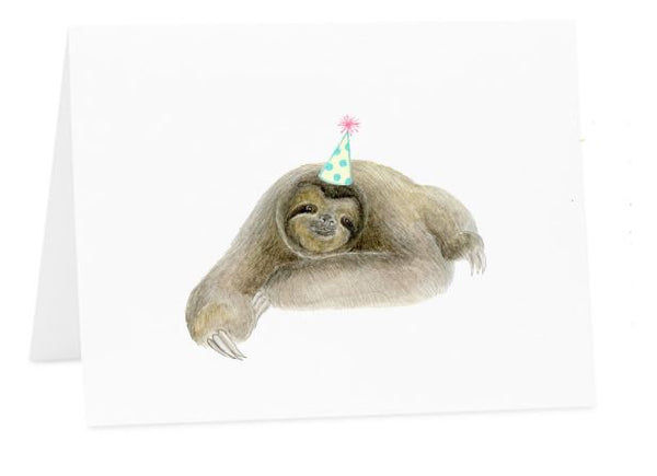 Jo Lee - Birthday Sloth Card